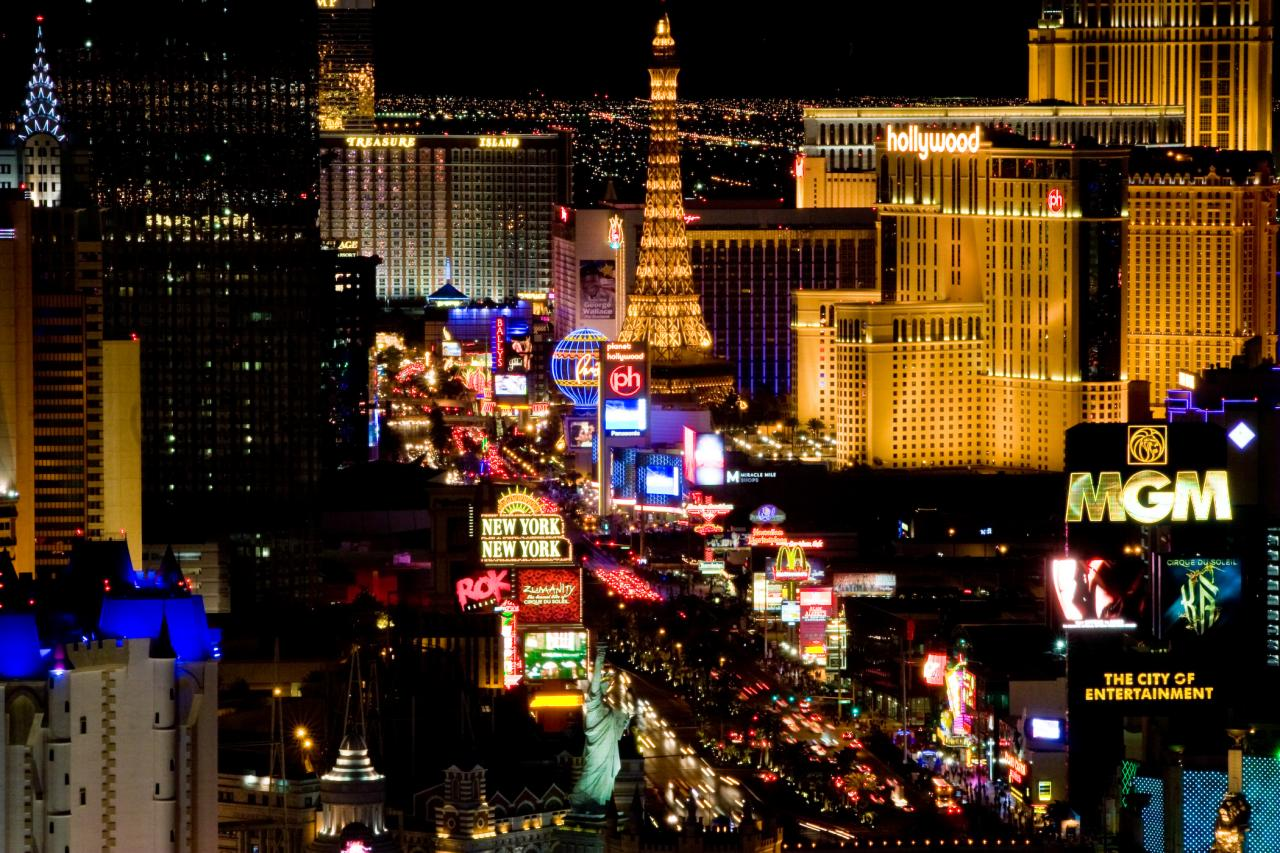 Las Vegas, with its bright lights, grand hotels and lavish spectacles is the entertainment capital of the world. Millions of people come to try their luck in...